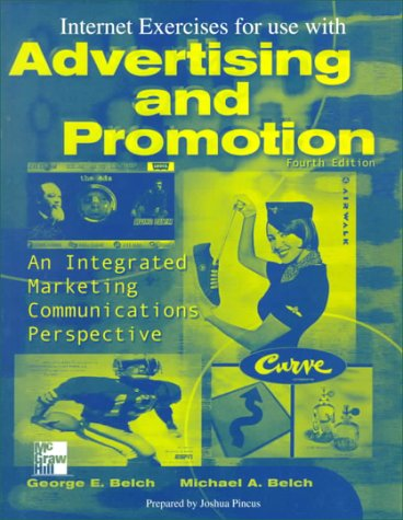 9780070122918: Advertising and Promotion: Internet Exercises