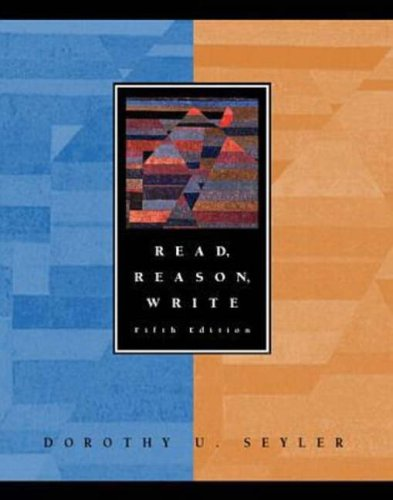 9780070122970: Read, Reason, Write