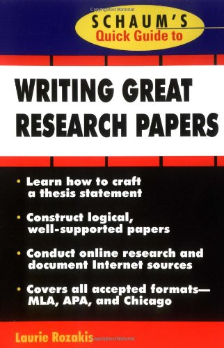 "guide writing college research papers Nathaniel hawthorne said, ""easy reading is damn hard writing"" whether that is true or not is a question for the ages, but many agree that writing can be intimidating, especially to undergraduate college students not used to writing academic papers."