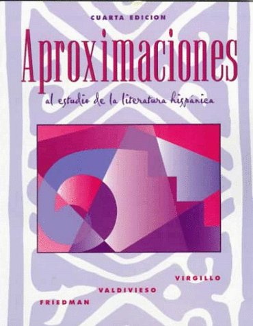 9780070123328: Aproximaciones al estudio de la literatura hispanica