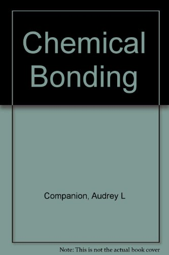 9780070123793: Chemical Bonding