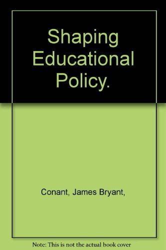 9780070123915: Shaping Educational Policy
