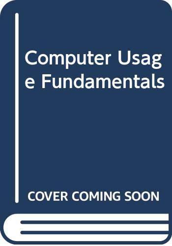 Computer Usage-Fundamentals: Computer Usage Co.,