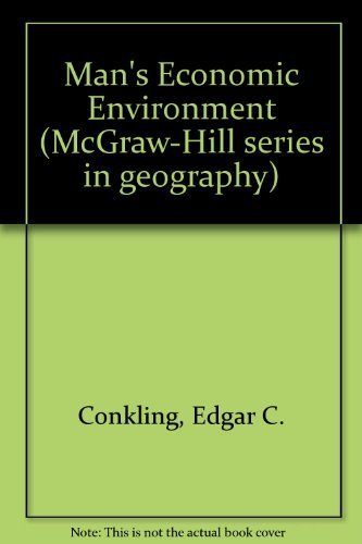 9780070124080: Man's Economic Environment (McGraw-Hill series in geography)