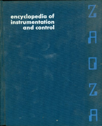 9780070124240: Encyclopaedia of Instrumentation and Control