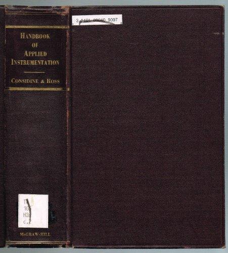 9780070124264: Handbook of Applied Instrumentation