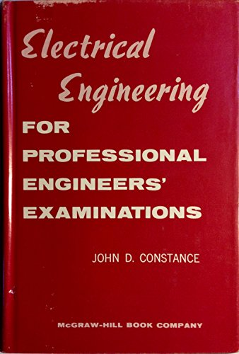 9780070124585: Electrical Engineering for Professional Engineers' Examinations