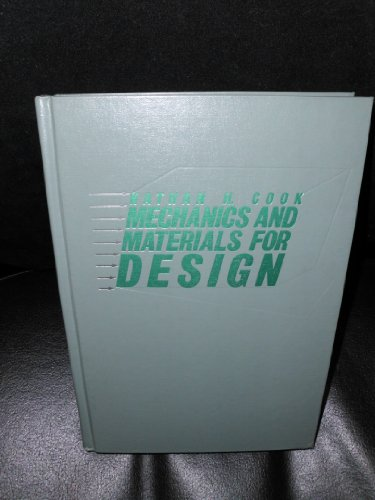 9780070124868: Mechanics and Materials for Design