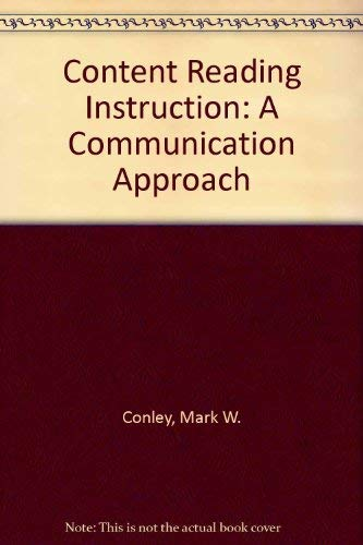 9780070124967: Content Reading Instruction: A Communication Approach