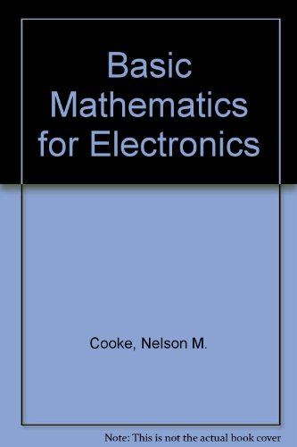 9780070125124: Basic Mathematics for Electronics