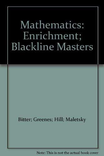 9780070126831: Mathematics: Enrichment; Blackline Masters