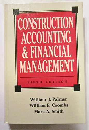 9780070127494: Construction Accounting & Financial Management