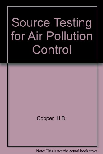 9780070127609: Source Testing for Air Pollution Control
