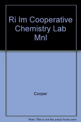 9780070127722: Ri Im Cooperative Chemistry Lab Mnl