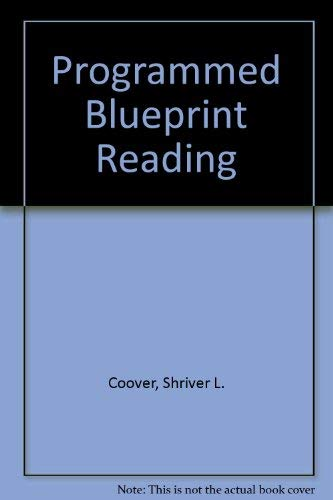9780070130630: Programmed Blueprint Reading