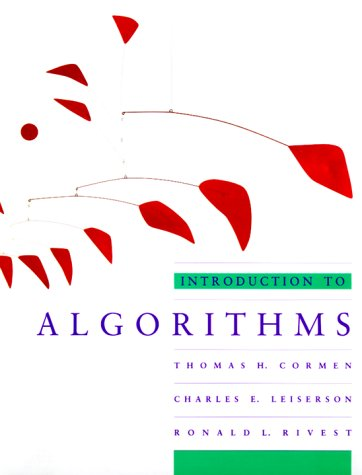 9780070131439: Introduction to Algorithms