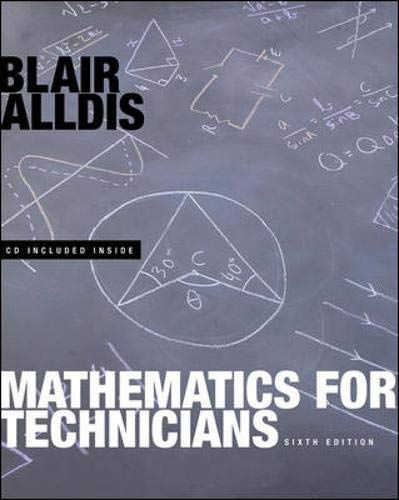 9780070131651: Mathematics for Technicians