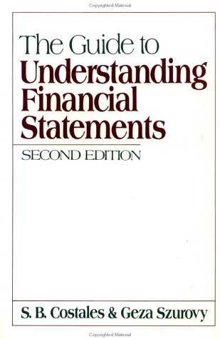 9780070131910: The Guide to Understanding Financial Statements