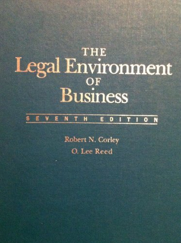 9780070132566: Legal Environment of Business
