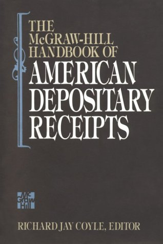 9780070133334: The McGraw-Hill Handbook of American Depository Receipts