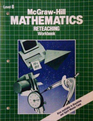 9780070133785: McGraw-Hill Mathematics Reteaching Workbook: Level 8