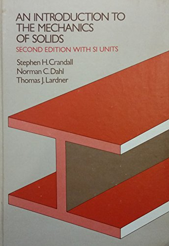 9780070134416: Introduction to the Mechanics of Solids: In S.I.Units