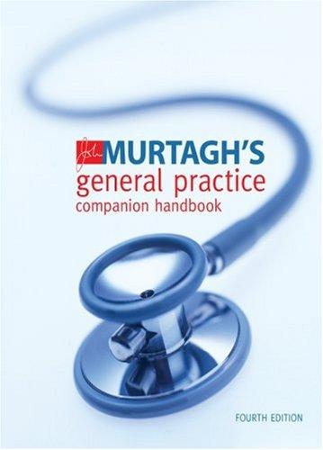 9780070134591: John Murtagh's General Practice Companion Handbook