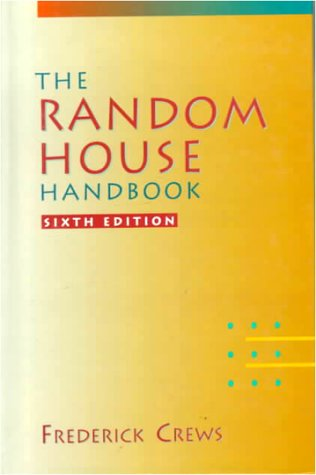9780070136366: The Random House Handbook
