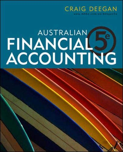 9780070136779: Australian Financial Accounting