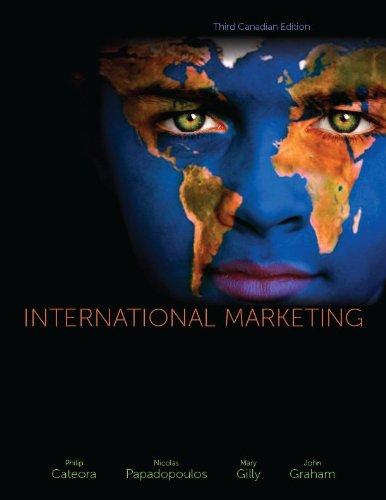9780070136793: INTERNATIONAL MARKETING >CANADIAN<
