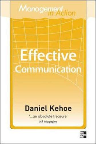 9780070137868: Management in Action: Effective Communication