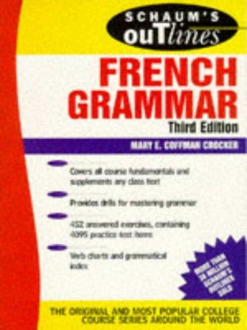 9780070138858: Schaum's Outline of French Grammar