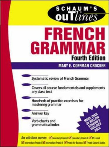 9780070138872: Schaum's Outline of French Grammar (Schaum's Outline Series)
