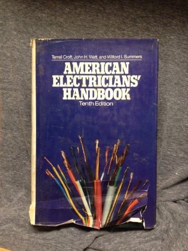 9780070139312: American Electricians' Handbook