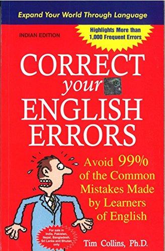 9780070139602: Correct Your English Errors