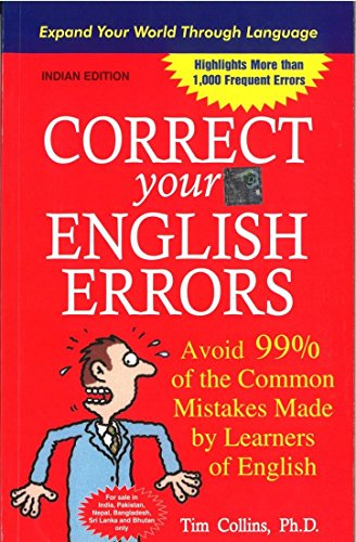 9780070139602: Correct Your English Errors