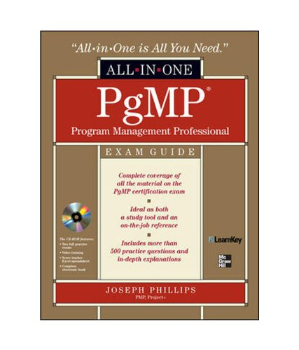PgMP Program Management Professional All-in-One Exam Guide: Joseph Phillips