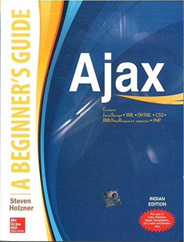 9780070139695: Ajax: A Beginner's Guide 1ED