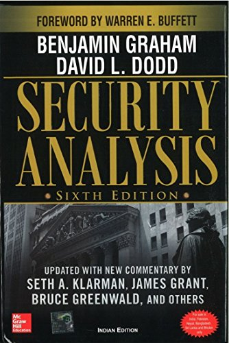 Security Analysis, 6/e 6ED: Graham, Benjamin; Dodd,