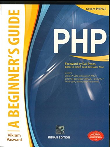 9780070140691: PHP: A BEGINNER'S GUIDE