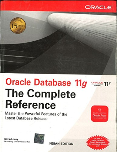9780070140790: Oracle Database 11g: The Complete Reference