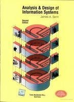 9780070140905: Analysis & Design Of Information Systems