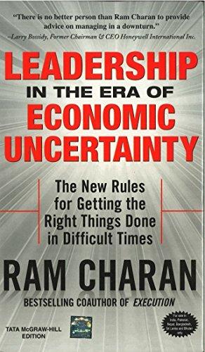 9780070142305: Leadership in the Era of Economic Uncertainity