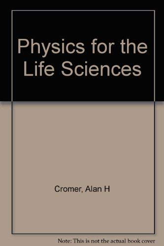 9780070144347: Physics for the Life Sciences