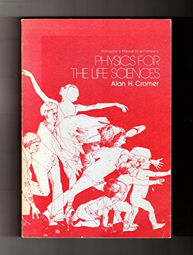 9780070144361: Instructor's manual to accompany Physics for the life sciences
