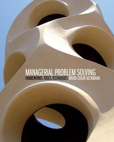 9780070144705: Managerial Problem Solving