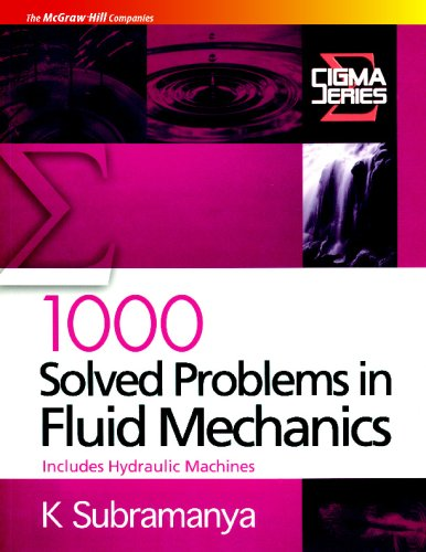 1000 Solved Problems in Fluid Mechanics: Includes Hydraulic Machines: K. Subramanya