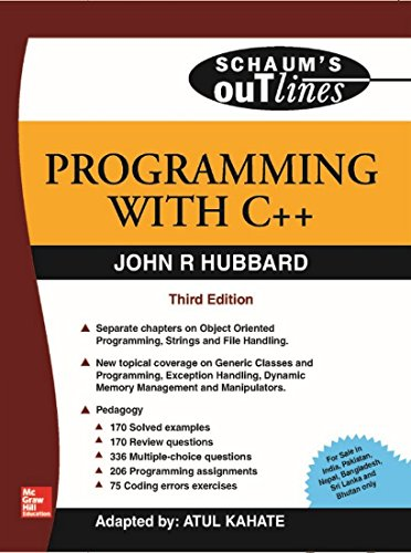 9780070144811: Programming With C++ (SIE) (Schaum's Outlines Series)