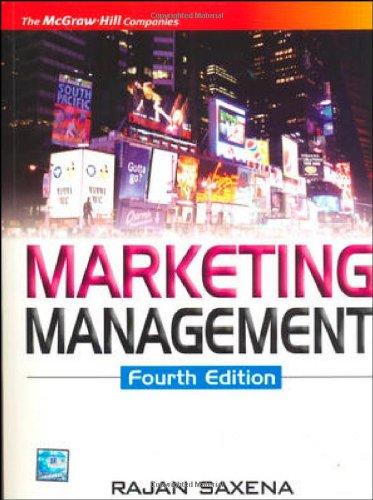 9780070144910: Marketing Management, 4th Edition