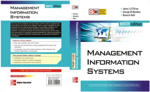 9780070144941: MANAGEMENT INFORMATION SYSTEMS 9E (SIE)